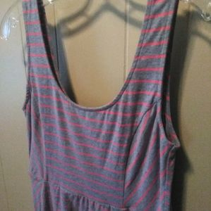 Mossimo Summer Babydoll Dress Striped